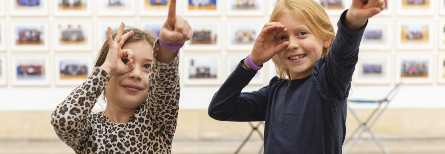 Pupils from Little Ealing Primary visiting Steve McQueen Year at Tate Britain (2) ©Tate.jpg