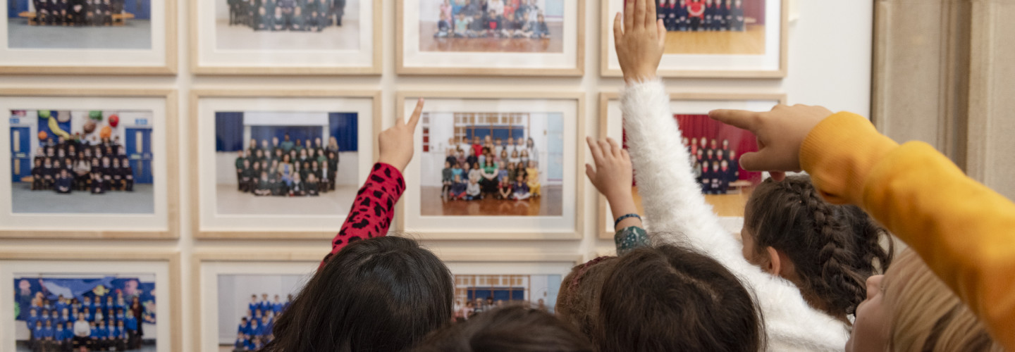 Pupils from Little Ealing Primary visiting Steve McQueen Year at Tate Britain (1) ©Tate.jpg